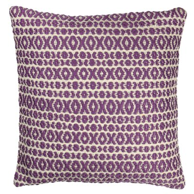 Structure Pillow Size: 18 H x 18 W x 7 D, Color: Purple