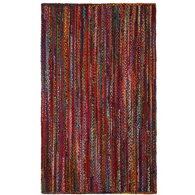 Hand-Loomed Multi Color Area Rug Rug Size: 4 x 6