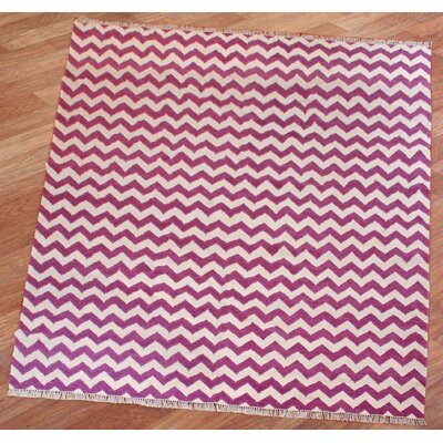 Hacienda Electro Orchid Area Rug Rug Size: Rectangle 9 x 12