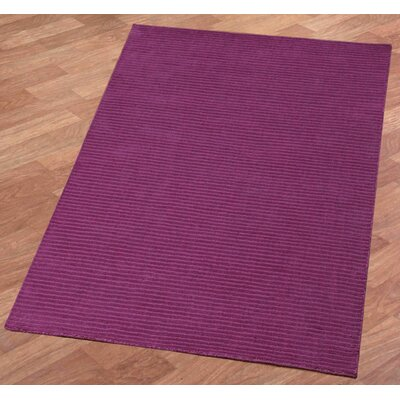 Pulse Orchid Area Rug Rug Size: Rectangle 8 x 10