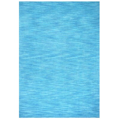 Fusion Aqua Area Rug Rug Size: Rectangle 4 x 6