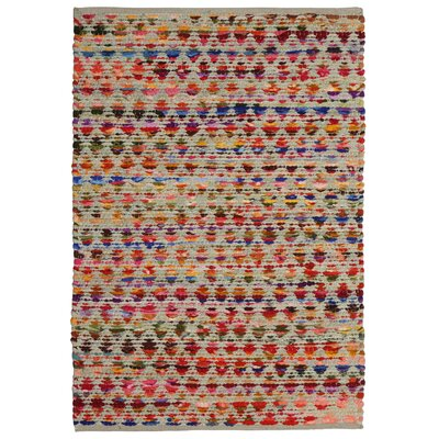 Complex Hand-Loomed Red/Orange Area Rug Rug Size: 19 x 210