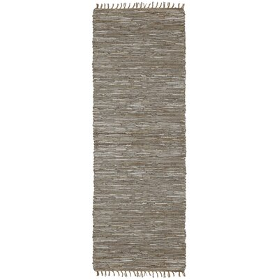 Matador Hand-Loomed Natural Area Rug Rug Size: Runner 26 x 12