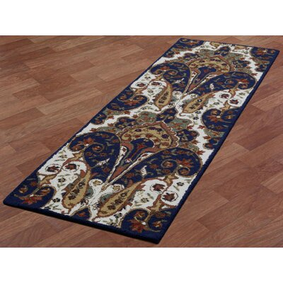 Structure Hand-Tufted Brown Area Rug Rug Size: Runner 26 x 8
