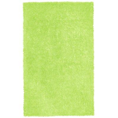 Shagadelic Green Area Rug Rug Size: 4 x 6