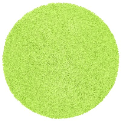 Shagadelic Green Area Rug Rug Size: Rectangle 2 x 5