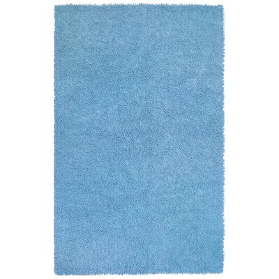 Shagadelic Light Blue Area Rug Rug Size: 2 x 5