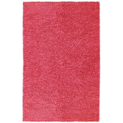 Baugh Pink Area Rug Rug Size: Rectangle 26 x 42