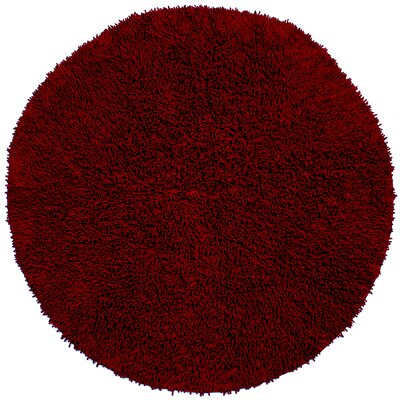 Baugh Burgundy Rug Rug Size: Rectangle 26 x 42