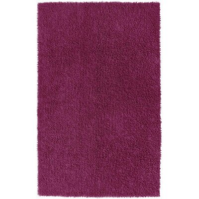 Baugh Hand Woven Purple Area Rug Rug Size: Rectangle 26 x 42