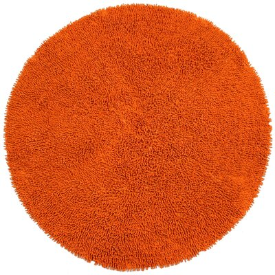 Shagadelic Copper Area Rug Rug Size: Round 3