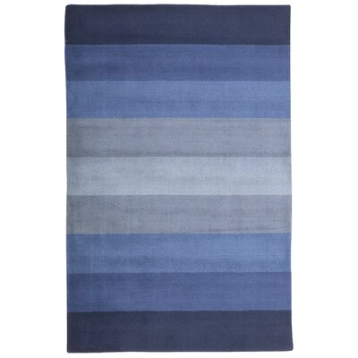 Aspect Blue Stripes Area Rug Rug Size: 4 x 6