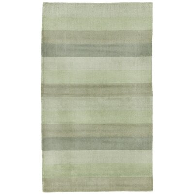 Degarmo Green Stripes Area Rug Rug Size: Rectangle 8 x 10