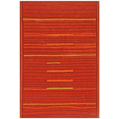 Structure Rust Rug Rug Size: Rectangle 5 x 8