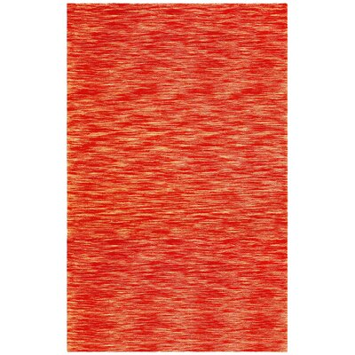 Fusion Brick Terracotta Area Rug Rug Size: Rectangle 8 x 10
