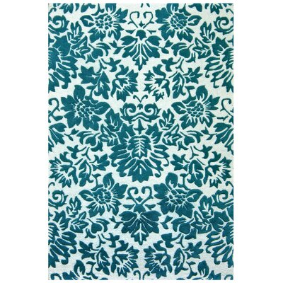 Structure Fenway Aqua Rug Rug Size: Rectangle 5 x 8