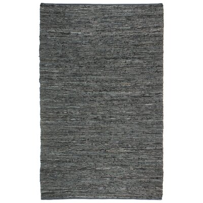 Sandford Hand-Loomed Black Area Rug Rug Size: Rectangle 19 x 210