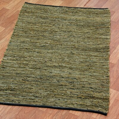 Matador Hand-Loomed Green Area Rug Rug Size: Rectangle 19 x 210