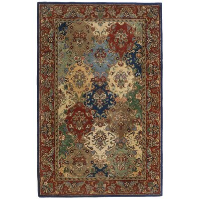 Traditions Baktarri Navy Multi Rug Rug Size: 5' x 8'