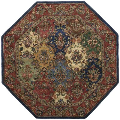 Traditions Baktarri Navy Multi Rug Rug Size: Octagon 6