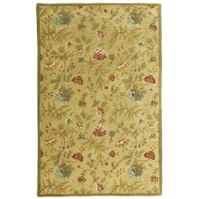 Traditions Gold Rug Rug Size: Rectangle 5 x 8