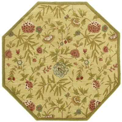 Traditions Gold Rug Rug Size: Octagon 6