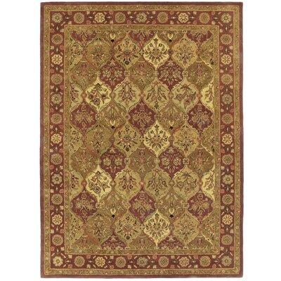 Traditions Baktarri Brick Red Rug Rug Size: 5 x 8