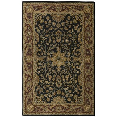 Traditions Regal Black Rug Rug Size: 5 x 8