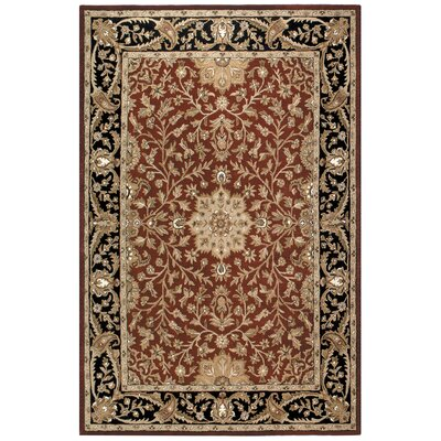 Traditions Regal Burgundy Rug Rug Size: Rectangle 5 x 8