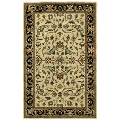 Traditions Patina Tan Rug Rug Size: Rectangle 5 x 8