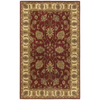 Traditions Agra Saffron Rug Rug Size: 4 x 6