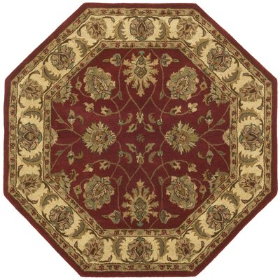 Traditions Agra Saffron Rug Rug Size: Rectangle 5 x 8
