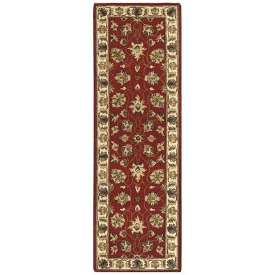 Traditions Agra Saffron Rug Rug Size: Runner 26 x 12