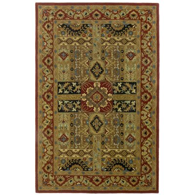 Traditions Ashton Olive Rug Rug Size: Rectangle 5 x 8