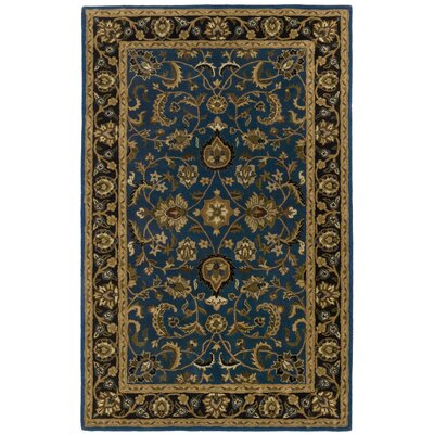 Traditions Mahal Blue Rug Rug Size: Rectangle 5 x 8
