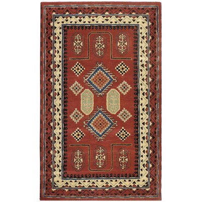 Traditions Bravura Rust Rug Rug Size: 5 x 8