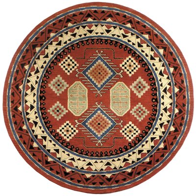 Traditions Bravura Rust Rug Rug Size: Rectangle 8 x 11