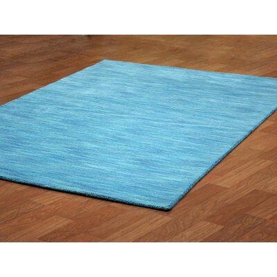 Fusion Aqua Area Rug Rug Size: 5' x 8'