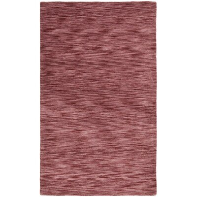 Fusion Plum Area Rug Rug Size: Rectangle 5 x 8