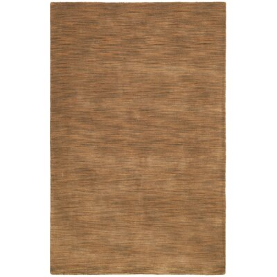 Fusion Light Brown Area Rug Rug Size: Rectangle 4 x 6