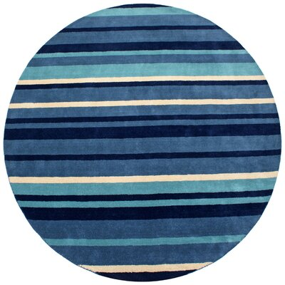 Cosmo Navy Rug Rug Size: Rectangle 5 x 8