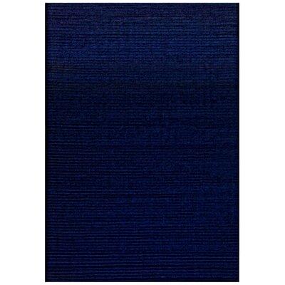 Pulse Blue Rug Rug Size: 5 x 8