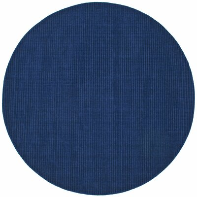 Pulse Blue Rug Rug Size: Rectangle 5 x 8
