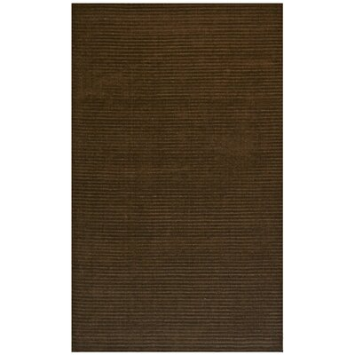 Pulse Brown Rug Rug Size: 5 x 8