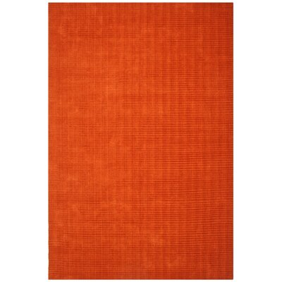 Pulse Copper Rug Rug Size: Rectangle 8 x 10