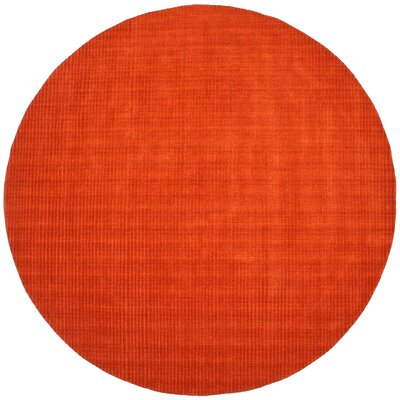 Pulse Copper Rug Rug Size: Round 8