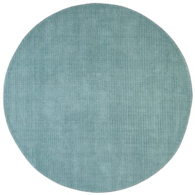Pulse Aqua Rug Rug Size: Rectangle 5 x 8