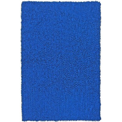 Baugh Neon Blue Kids Rug Rug Size: Rectangle 26 x 42
