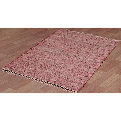Matador Leather/Hemp Copper Area Rug Rug Size: 5 x 8