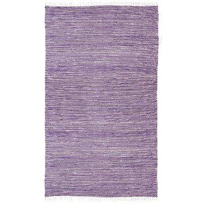 Complex Purple Area Rug Rug Size: 8 x 10